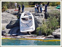 boating accident photo