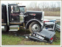 Have you had the misfortune to be injured in an accident with Freight Truck? Get your Expenses Paid. Get a Free Consultation with Ten-Law today.